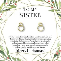Christmas Gift for Best Friend Necklace: BFF Necklace, Best Friend Gift Jewelry, Long Distance, Friends Forever, 2 Interlocking Circles – Dear Ava Little Sister Gifts, Christmas Gifts For Sister, Trending Christmas Gifts, Christmas Fun, Holiday Gifts, Holiday Fun, Best Friend Gifts, Gifts For Friends, Best Friend Necklaces