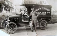 Model T Ford Forum: Old Photo - Grocery Delivery Van