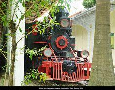 Locomotora. Museo del Transporte (Caracas-Venezuela)