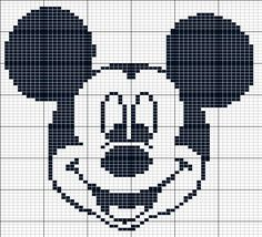 Mickey Mouse perler bead pattern