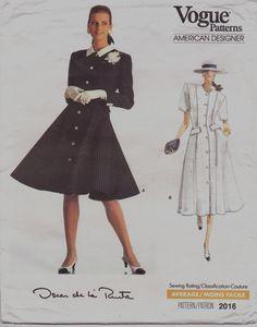 80s Oscar de la Renta Vogue American Designer by CloesCloset, $14.00
