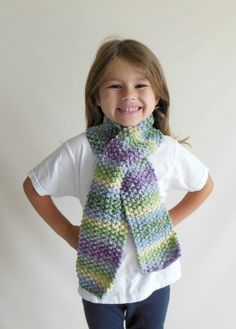 FREE SHIPPING Knit Scarf Toddler/Child Size in by HeavenBoundHCA, $25.00