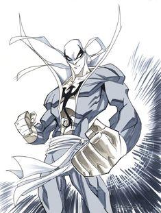 Con Sketch::Iron Fist by KharyRandolph on DeviantArt Marvel Comic Character, Marvel Comic Books, Comic Book Characters, Marvel Dc Comics, Marvel Heroes, Marvel Characters, Comic Books Art, Comic Art, Superman