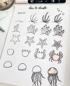 60 doodle tutorials for your Bullet Journal - reb . - 60 doodle tutorials for your Bullet Journal – reb … – - Bullet Journal 2019, Bullet Journal Aesthetic, Bullet Journal Notebook, Bullet Journal Ideas Pages, Bullet Journal Inspiration, Bullet Journals, Doodle Drawings, Easy Drawings, Simple Doodles