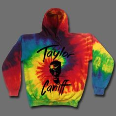 Taylor Face Tie-Dye : TCNF : Taylor Caniff