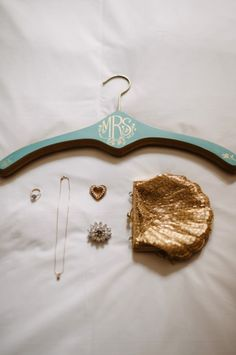 Gold Sequin Scallop Clutch | photography by http://twobirdsphoto.com