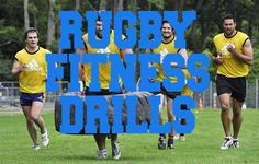 Rugby fitness drills are the fundamentally of a good team, rugby is a very… Rugby League, Rugby Players, Team Player, Rugby Drills, Rugby Games, Rugby Workout, Rugby Coaching, Rugby Training, Cardiovascular Fitness