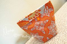 Re-usable Snack Bags - Free Sewing Tutorial by Aubrey Schwartz #sewing