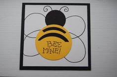 Set of 20 Mini Valentine Cards For Kids - Flying Bee