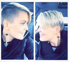 Shaved Pixie Hair Cut: Short Hairstyles for Spring and Summer 2015