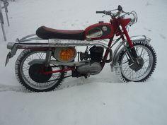 Fantastic rare original norwegian Tempo cross 1961, sachs motor - 125 cc