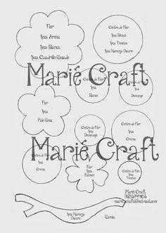 Moldes de SRA BUHA de MARIE - CRAFT