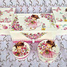 Krabičky - Dievčatko v ružovom - 4790481_