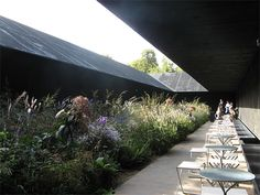 Serpentine Gallery Pavillion,London 2011, Peter Zumthor og Piet Odolf
