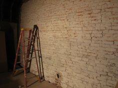 how to whitewash brick + recipe :)