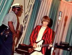 Brian Jones with the Stones at Steel Pier, Atlantic City, New Jersey July 1st 1966 | by bp fallon