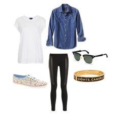 3 ways to wear: a white tee shirt.