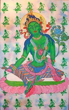 faithstoneart Thangka Painting, Hindu Art, Buddhist Art, New Work, Westerns, Buddha, Carving, Princess Zelda, Culture