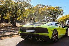 Sweet shot by @brits_and_vos_media of this Verde Scandal Aventador S in JHB   #ExoticSpotSA #Zero2Turbo #SouthAfrica #Lamborghini #AventadorS #VerdeScandal
