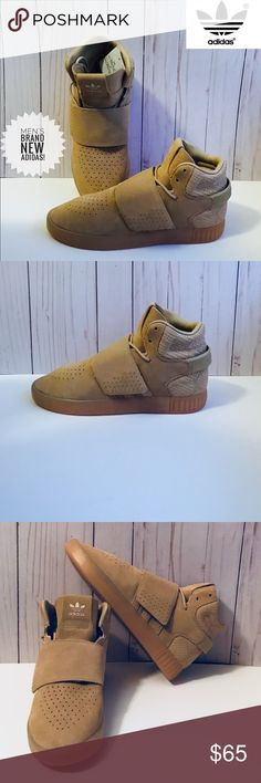 NWT ADIDAS INVADER TUBULAR This Item Comes Brand New With Tags. Does Not Come With Shoe Box. (Sorry🙃) High Top Men's Sneaker 👟  Suede Material Covers Most The Shoe. The Sole of This Shoe Is Rubber. Comfortable Textile Lining. Mid Foot Strap. Molded Heel Strap With Adidas Wordmark.  Priced Firm 👍🏽 ⚠️Fast Shipping ⚠️ Thanks For Shopping In My Closet😊 Happy Poshing! 😁 adidas Shoes Sneakers