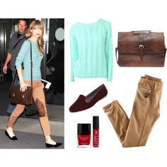 """""""Taylor Swift Travel Style"""" by thethreadaffect on Polyvore"""