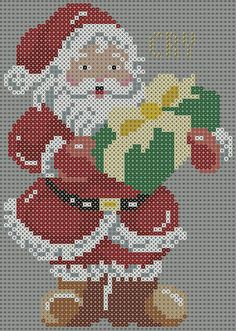 Deadpool Poster (Square) from Maninthebook on Kandi Patterns Deadpool Poster [Square] from Maninthebook on Kandi Patterns Pearler Bead Patterns, Perler Patterns, Kandi Patterns, Christmas Perler Beads, Christmas Cross, Xmas Cross Stitch, Cross Stitch Patterns, Plastic Canvas Christmas, Melting Beads