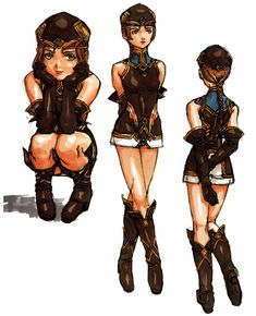 Frei Concepts from Valkyrie Profile