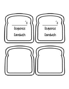 Where does bread come from? sequencing worksheets. (Little