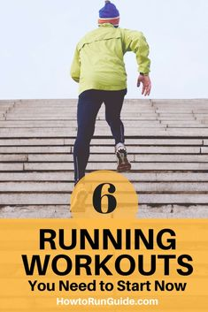 Running Tips | Want to increase endurance, strength and speed? Do these 6 running workouts for long distance runners. | #runningtips #runners #running