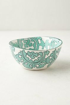 graphic bowl with color (perfect for ice cream or cereal) two or three like this with same or different colors = fun!