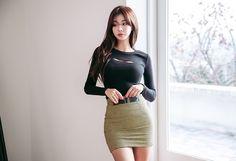 Pretty Asian Girl, Sexy Asian Girls, Beautiful Asian Girls, Asian Models Female, Asian Model Girl, Fashion Models, Girl Fashion, Glamour Ladies, Korean Women