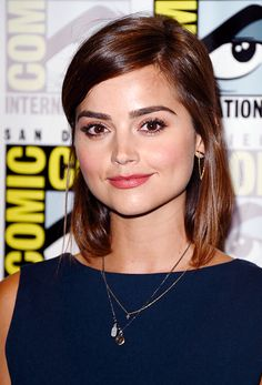 Jenna Coleman attends the BBC America 'Doctor Who' photo call during Comic-Con International 2015 at the Hilton Bayfront on July 9, 2015 in San Diego, California.