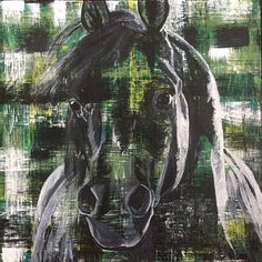 Contemporary equine fine art paintings for sale by Chanelle Zimmer in Bozeman, Montana or commission a portrait of your horse. Art Paintings For Sale, Horse Paintings, Mustang, Painting Competition, Past, Horses, Fine Art, Contemporary, Studio