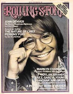 1975 Rolling Stone Covers Pictures - RS186: John Denver | Rolling Stone