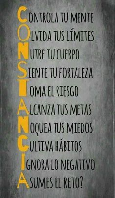 Sayings in Spanish. Learn about popular sayings and proverbs in Spanish Motivational Phrases, Fitness Motivation Quotes, More Than Words, Intj, Spanish Quotes, Spanish Inspirational Quotes, Positive Quotes, Wise Words, Favorite Quotes