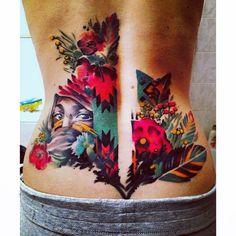 My watercolour tattoo 💓