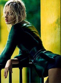Karmen Pedaru by Greg Kadel for Vogue Spain