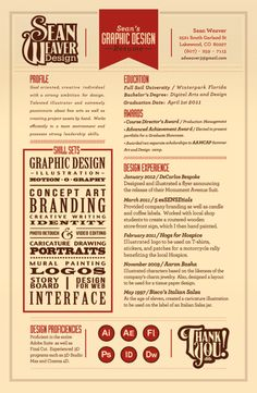 #CV design Inspiration