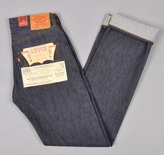 Levi's Vintage Clothing 1947 501 Jeans, Raw Denim
