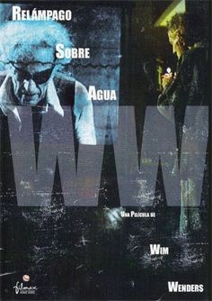 """DVD DOC 53 - Relámpago sobre el agua (1980) Alemania. Dir: Wim Wenders y Nicholas Ray. Enfermidade. Documental. Sinopse: polémico documental sobre os últimos días do gran director de cinema americano Nicholas Ray, cando estaba morrendo de cancro. Ray negouse a ir á un hospital e preferiu quedar no seu loft de NY, rodeado dos seus mellores amigos. """"Sabía que quería traballar e morrer traballando"""" di Wim Wenders na película."""