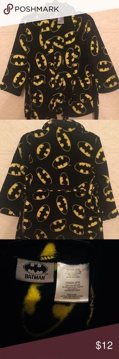 Kids Batman Robe Super soft Batman robe with belt. Batman Pajamas Robes
