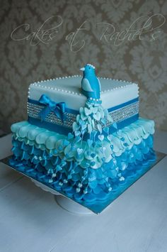 This is such an intricate cake! I would almost be afraid to eat it.