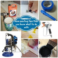 More painting tips than you know what to do with!