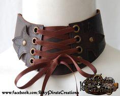 38 Leather Neck Corset Chocker Posture Collar Halskorsett On Etsy