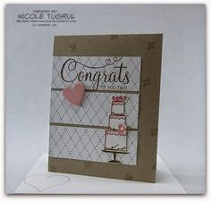 Be Creative with Nicole: Your Perfect Day for TSSC356 Wedding card featuring Your Perfect Day and Something Borrowed Designer Series Paper.  More information at Be Creative with Nicole.