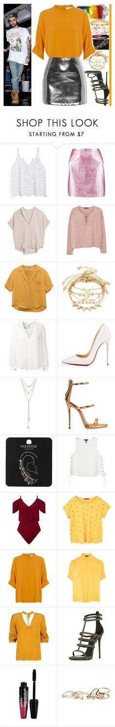 """With Zayn Malik"" by angelbrubisc ❤ liked on Polyvore featuring Boohoo, MASSCOB, MANGO, Erin Fetherston, Christian Louboutin, SUGARFIX by BaubleBar, Giuseppe Zanotti, Topshop, rag & bone and Roland Mouret"