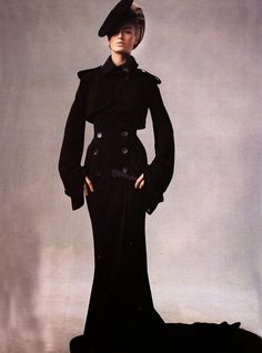 Carolyn Murphy in Jean-Paul Gaultier for Real Life Chic, Photographed by Steven Meisel, 2002