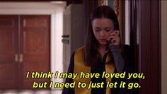 "When she made this confession to Jess after he skipped town on her: | The 25 Best Lines From Rory Gilmore On ""Gilmore Girls"""
