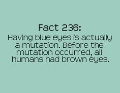 I am a mutant.