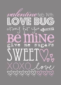 Free Printable Valentine Decor